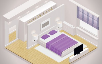 Garderoba – carstvo između kupaonice i spavaće sobe